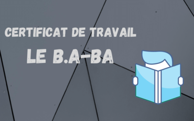 The work certificate blueprint